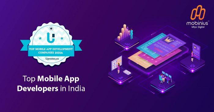 top mobile app development companies 2021