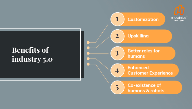 Benefits of Industry 5.0